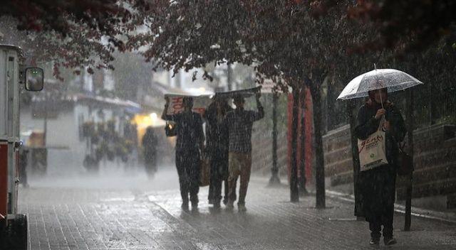 Marmara Bölgesi'nin doğusu ve İstanbul'da kuvvetli yağış bekleniyor