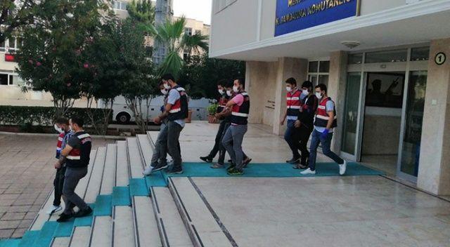 Mersin'de 4 terör örgütü üyesi yakalandı