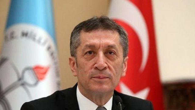 Milli Eğitim Bakanı Ziya Selçuk'tan velilere teşekkür