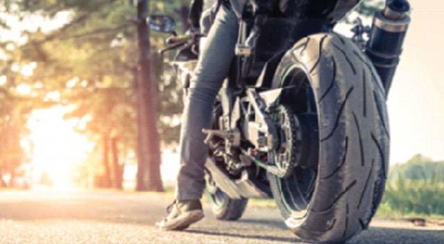 Motosiklette  bereketli sene