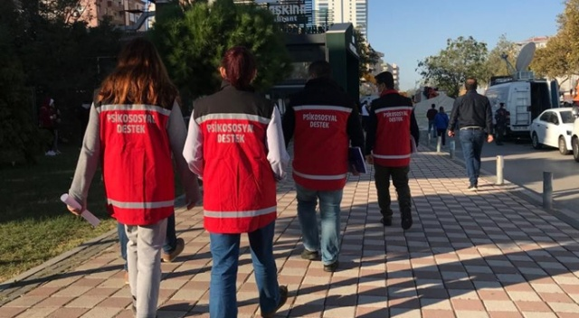 Muğla'dan psikolojik destek ekipleri İzmir'e gönderildi