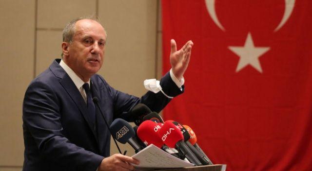 Muharrem İnce: CHP'de siyasete mecbur muyuz?