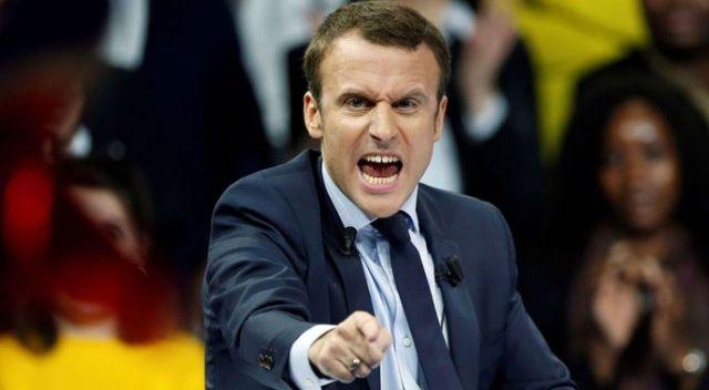 Musluk kesildi Macron çıldırdı
