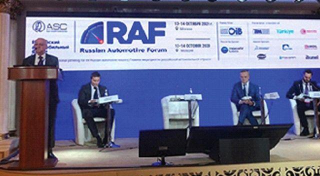 OİB'ten Rusya atağı... Türk otomotiv sektörünü tanıttı
