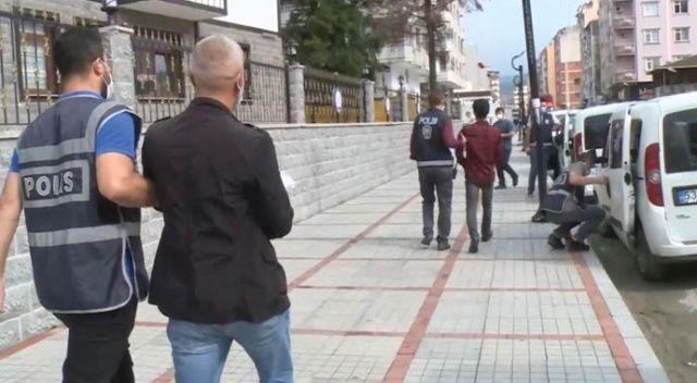 Rize'de rögardan çıkan şahsı kovaladıkları iddia edilen 3 kişinin kim olduğu ortaya çıktı