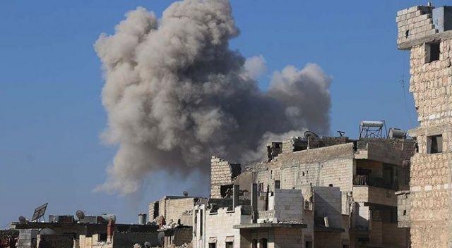 Rus savaş uçakları İdlib'de eğitim kampını vurdu!