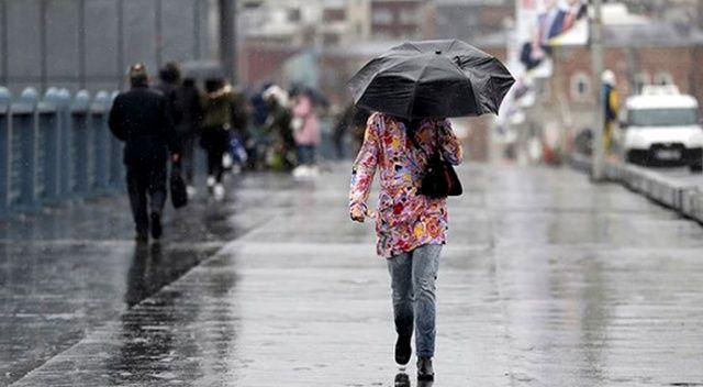 Sağanak yağış geliyor! 27 ekim hava durumu