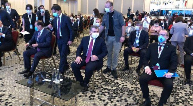 Sağlık Bakanı Koca Türk Konseyi Sağlık Bilim Kurulu Toplantısı'na katıldı
