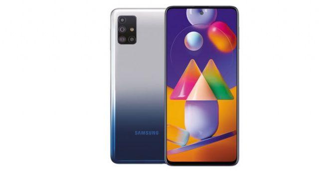 Samsung dev bataryalı Galaxy M31s'i satışa sundu