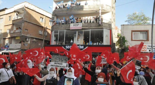 Şırnak annelerinin HDP önündeki eylemi 4'üncü haftasında