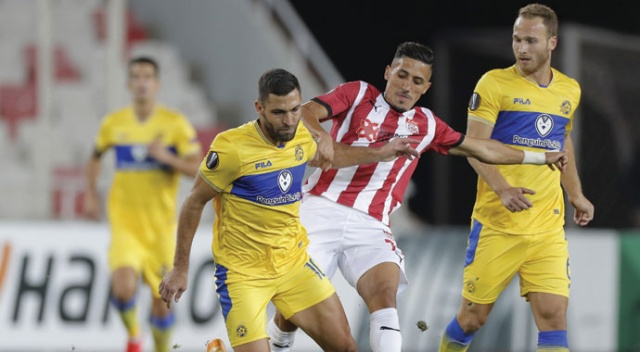 Sivasspor, UEFA Avrupa Ligi'nde Maccabi Tel Aviv'e 2-1 mağlup oldu