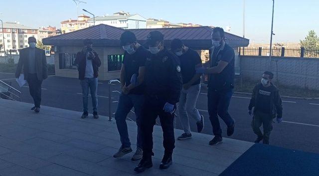 Suç örgütü çökertildi, 27 şüpheli Kars'a getirildi