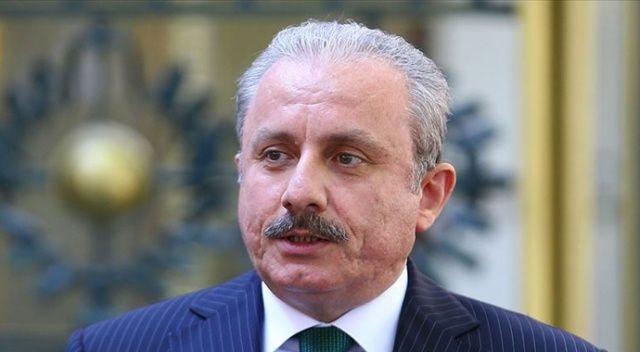 TBMM Başkanı Mustafa Şentop, KKTC Cumhurbaşkanı seçilen Ersin Tatar ile görüştü