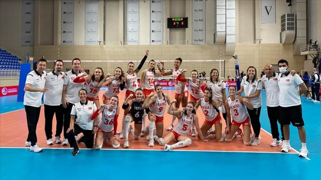 Türkiye 17 Yaş Altı Kızlar Avrupa Voleybol Şampiyonası'nda finalde