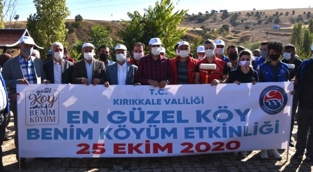 """Türkiye'de bir ilk, köylülerin yüzünü güldüren proje: """"En Güzel Köy Benim Köyüm"""""""