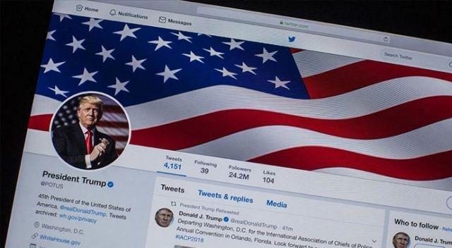Twitter: Trump'ın hesabının hacklandiğine dair delil yok