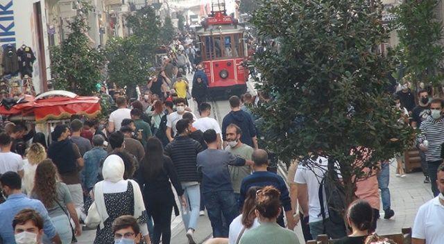 Vaka sayıları arttı, İstiklal Caddesi'nde manzara değişmedi