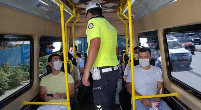 Van'da yeni karar: Hem ayakta yolcu alan minibüse hem ayaktaki yolcuya ceza kesilecek