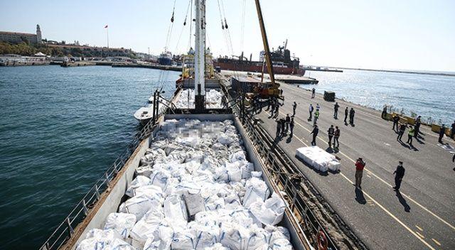 Yabancı bayraklı gemide, 2 milyon 845 bin paket kaçak sigara