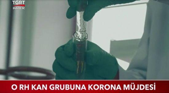 0 RH kan grubuna korona müjdesi