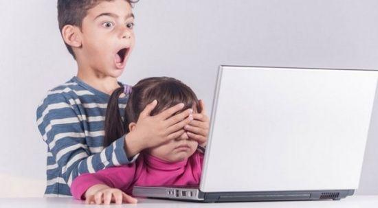 Çocuklar siber zorba mağduru