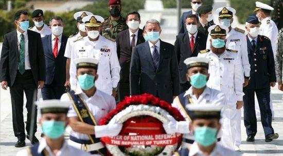 Milli Savunma Bakanı Hulusi Akar, Pakistan'da Mehter Marşıyla karşılandı
