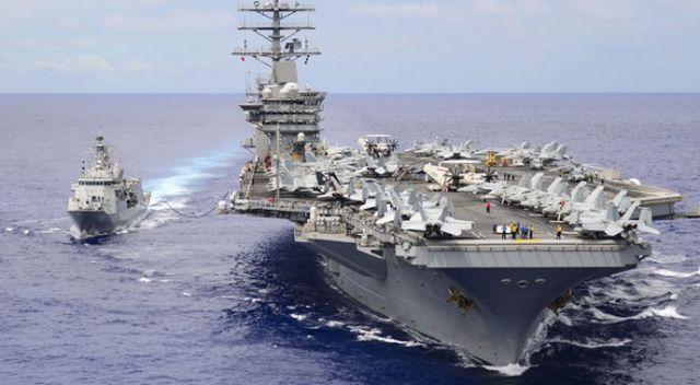 ABD, uçak gemisine Orta Doğu'ya geri dönmesi emrini verdi