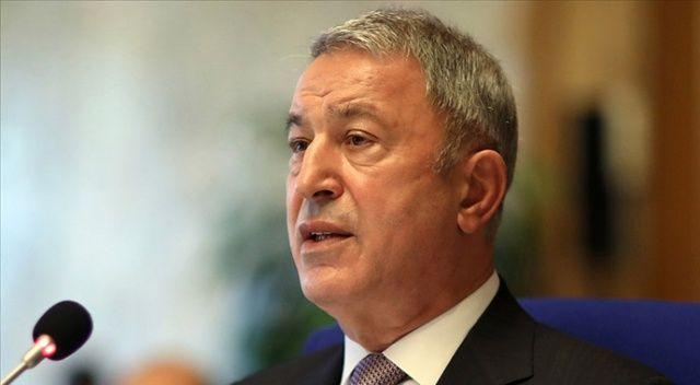 Bakan Akar'dan Fransız Senatosu kararına tepki