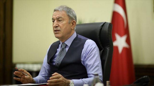 Bakan Akar: Türkiye ve ABD arasında görüş ayrılıkları olsa da iki ülkenin uzun bir işbirliği geleneği var