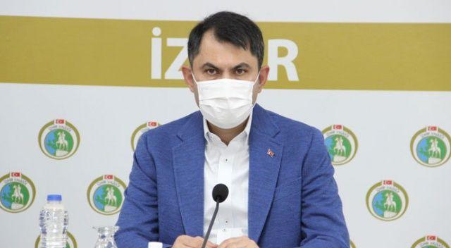 Bakan Kurum: İzmir'de deprem dönüşümünü gerçekleştireceğiz