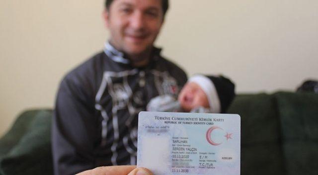 Beşiktaşlı fanatik baba, oğlunun ismini Sergen Yalçın koydu