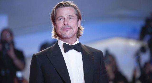 Brad Pitt, ihtiyaç sahiplerine yiyecek dağıttı