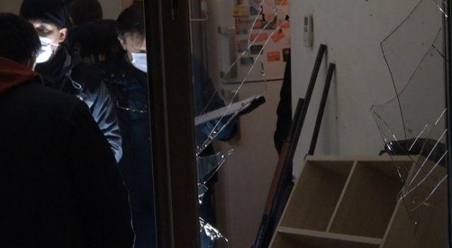 Bursa'da bir evde patlama...Ortalık savaş alanına döndü