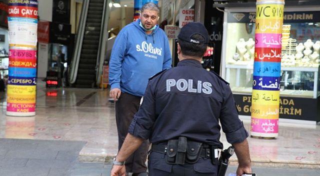 Covid-19 denetiminde şaşırtan cevap: Adana'dan geldim, Adana'da yasak yok