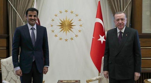 Cumhurbaşkanı Erdoğan: Kardeş Katar halkıyla dayanışmamızı her alanda güçlendirerek sürdüreceğiz