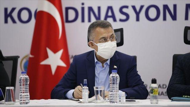 Cumhurbaşkanı Yardımcısı Oktay: Arama kurtarma çalışmaları devam ediyor