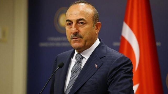 Dışişleri Bakanı Çavuşoğlu, Azerbaycan Dışişleri Bakanı Ceyhun Bayramov'la görüştü