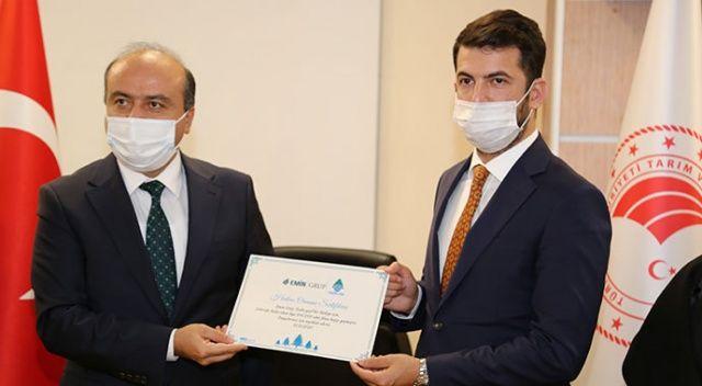 Eminevim 'Geleceğe Nefes Ol' kampanyasına 100 bin fidan bağışladı