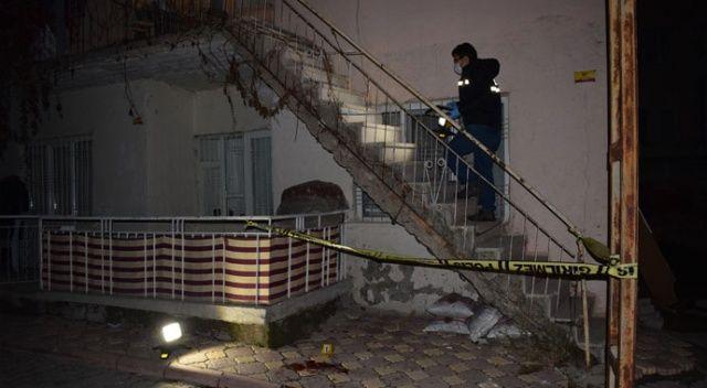 Eşi tarafından eve alınmayan alkollü adam 3 metre yükseklikten düştü