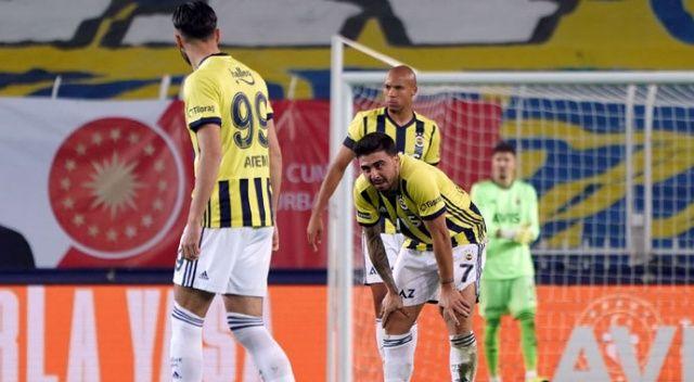 Fenerbahçe'nin Kadıköy derbilerindeki tüm yenilmezlik serileri sona erdi