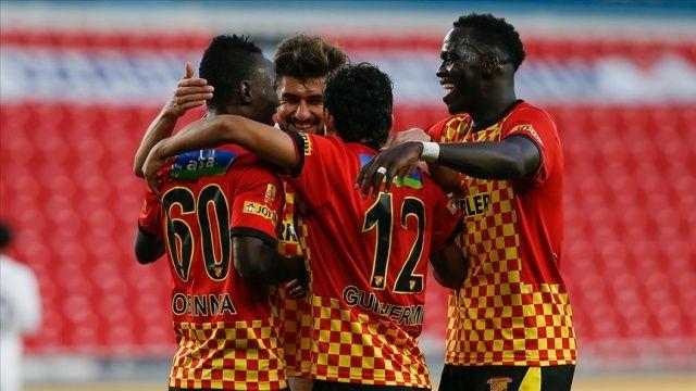 Göztepe, MKE Ankaragücü'nü yenerek 6 maç sonra sahadan galibiyetle ayrıldı