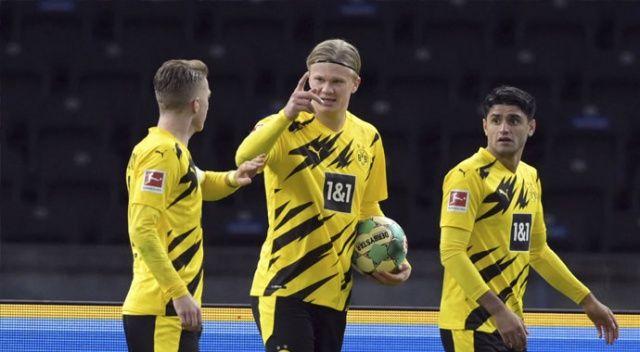 Haaland hat-trick yaptı, Dortmund zorlanmadı