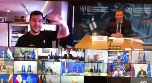 Hollandalı gazeteci AB savunma zirvesine sızdı