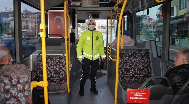 İçişleri'nden Covid-19 genelgesi: Otobüslerde sıkı HES denetimi