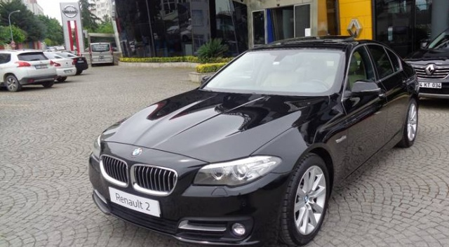 İcradan satılık BMW! İşte fiyatı...