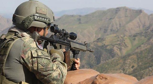 Irak'ın kuzeyinde 2, Barış Pınarı bölgesinde 4 terörist etkisiz hale getirildi