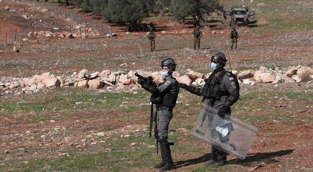 İsrail güçlerinden Batı Şeria'daki gösteriye müdahale