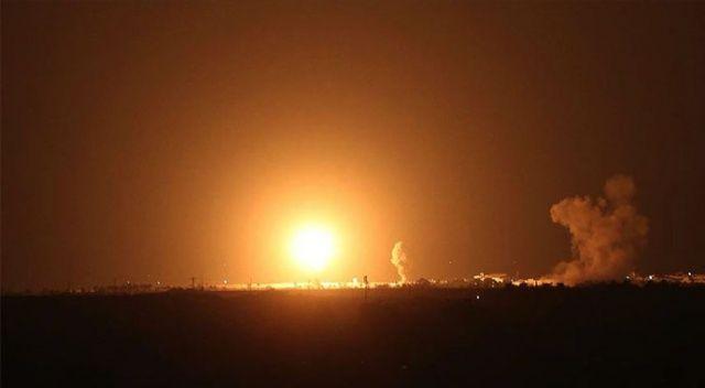 İsrail ordusu, Gazze'deki Hamas'a ait noktaları vurduğunu açıkladı