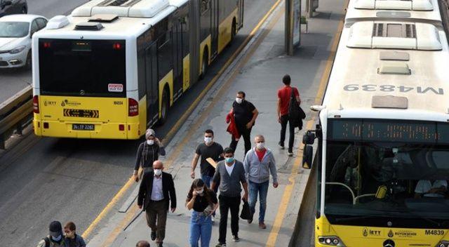 İstanbul'da toplu ulaşım Covid-19 tedbirleri kapsamında yeniden düzenlendi