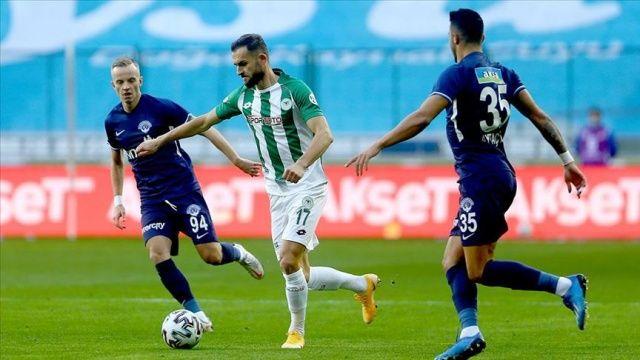 İttifak Holding Konyaspor 3 puanın sahibi oldu